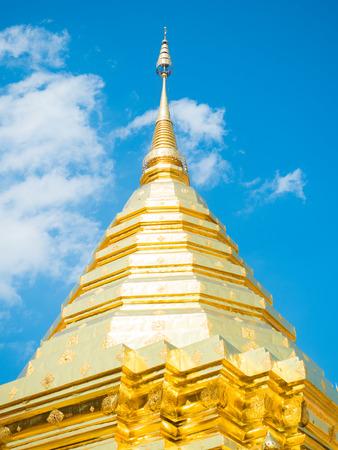 Chiang mai Wat Phrathat Doi Suthep 写真素材