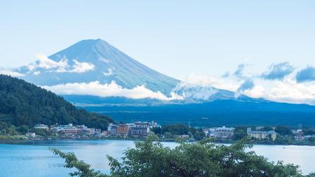 fuji mountain close up japan
