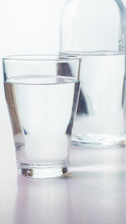 water drink glass close up