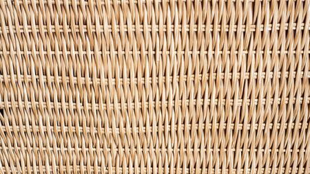 woven rattan with natural patterns Imagens