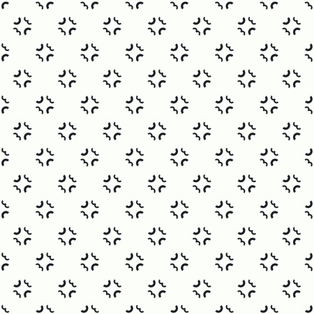 Black and white abstract vector pattern.