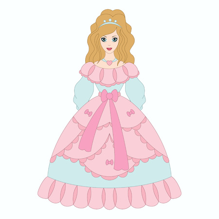 fashion story: Beautiful princess, girl in ancient dress