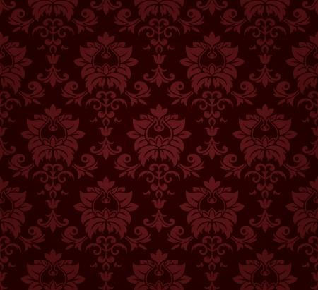 완벽 한 꽃 패턴입니다. 일러스트