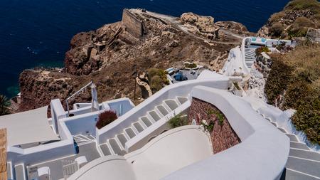 santorini island: Santorini island. Greece. Stock Photo