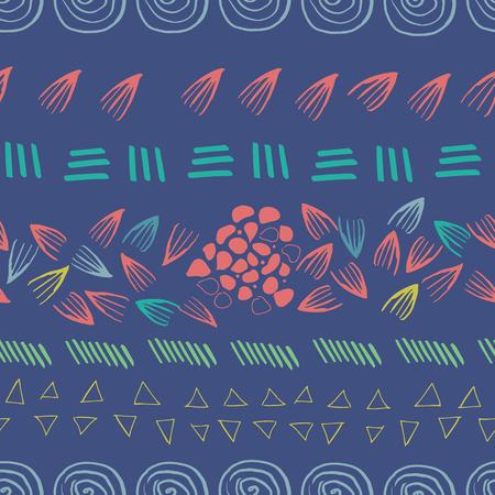 arrière-plan abstrait de conception d'impression transparente aztèque violet. parfait pour le fond et le papier peint. Vecteurs