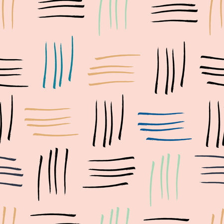 abstract watercolour stripes teal seamless pattern print background. Perfect for background, fashion, textiles and stationery.