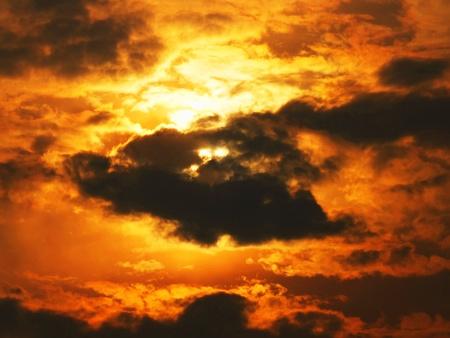 Sky silhouette Stock Photo - 12402582