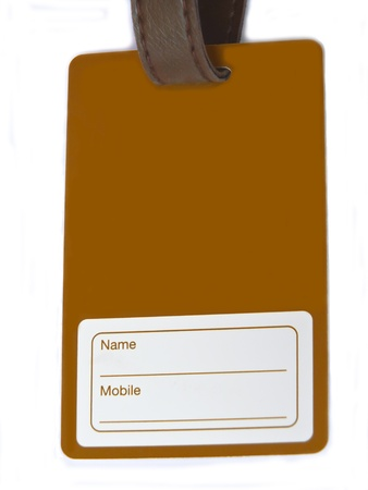 Nametag card - suitable for design and advertisement PR