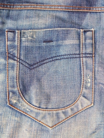 The pocket jean Stock Photo