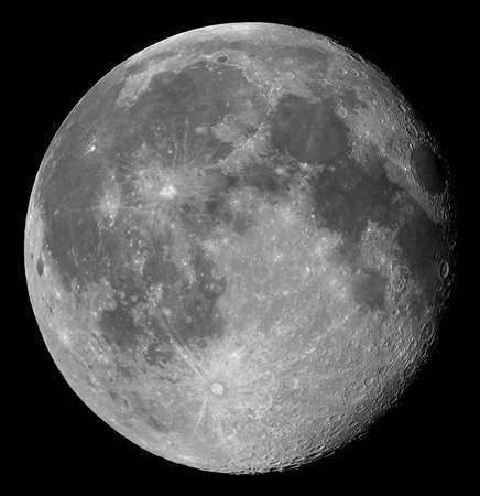 gibbous: Two days after full, the Moon in its waning gibbous phase
