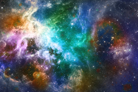 space, galaxy, nebula, gaseous photo
