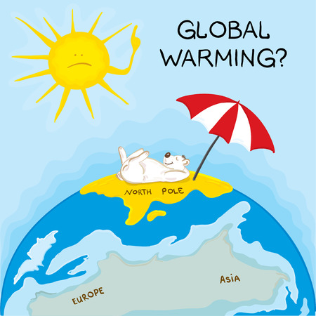 Global Warming Stock Vector - 7202157