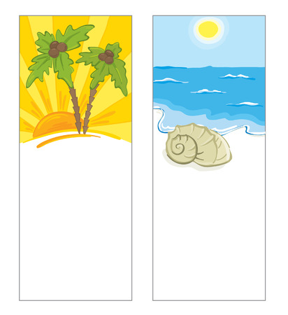 shoreline: Cards with a sea view