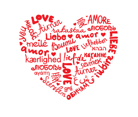 amore: Languages Heart