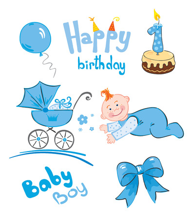 for boys: A set of newborn (for boys)