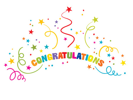 congratulations: Joyful greetings