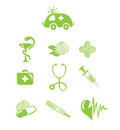 Icons - Medical Theme Stock Vector - 7547557