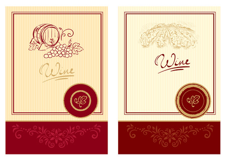 wine label design: Wine labels