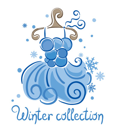 seasonal clothes: Dress - Winter Collection