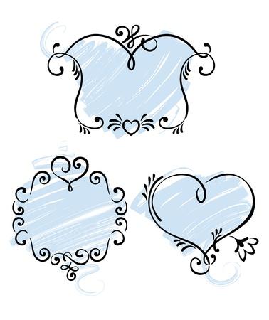 Romantic framework  Vector