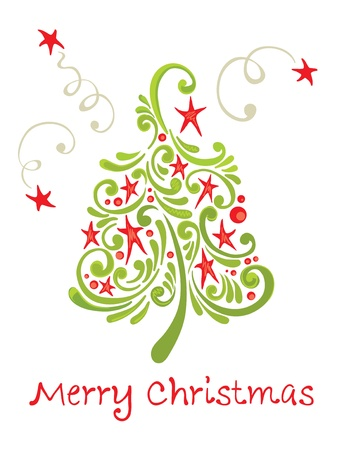 merry mood: Funny christmas tree