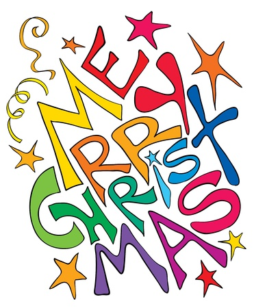Groeten uit Kerst Vector Illustratie