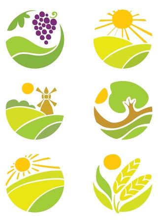 """Collection de logos - """"Agriculture"""" Logo"""