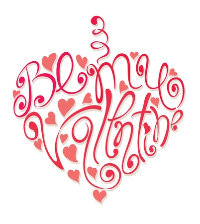 Heart - Be my Valentine