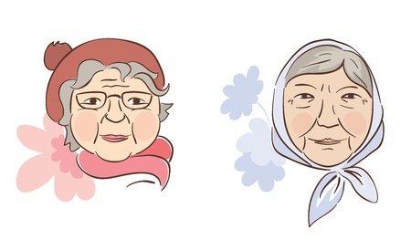 Two good grandmother