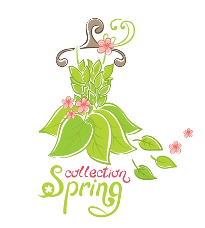 green dress: Dress - Spring Collection