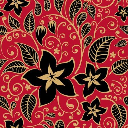 floral ornament: Floral background  Illustration