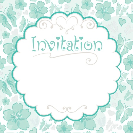Invitations card  Vector