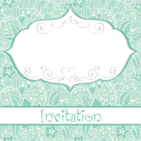 Invitation to the wedding  Stock Vector - 12486472