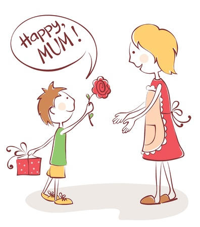 mama e hijo: Felicitaciones a la mam�