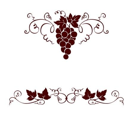 Set design elements -- grape