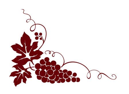 Elemento de diseño - uva Foto de archivo - 25462834