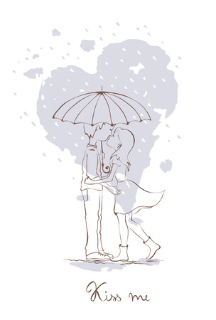 rendezvous: Rendezvous in the rain
