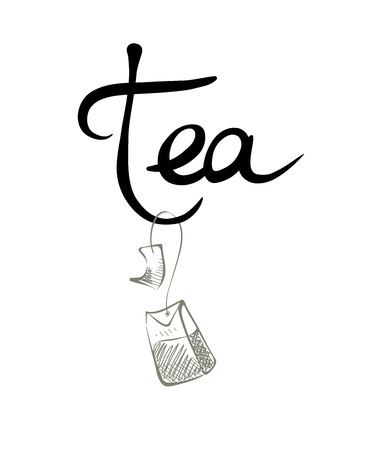 teabag: Vector illustration, design element -- teabag.