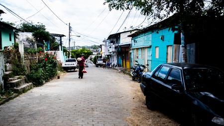 Typical neighbourhood nearby the beach 新聞圖片