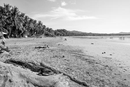 Costa Rica Beach Vacation Tourist Destination Tourism Pacific Ocean Central America