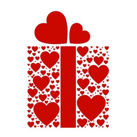 truelove: scatola di amore Vettoriali