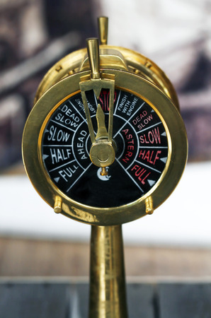 throttle: speed control from an old steam boat