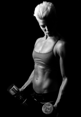 fitness girl photo