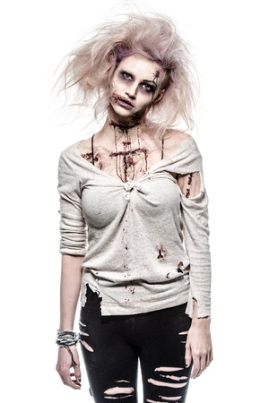 possessed: a scary undead zombie girl