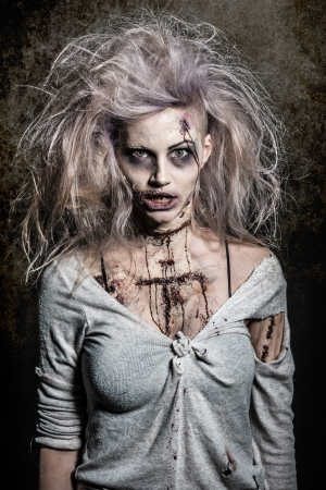 devil girl: a scary undead zombie girl