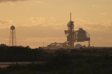 Centre de lancement du Centre spatial John F. Kennedy Banque d'images - 78591151
