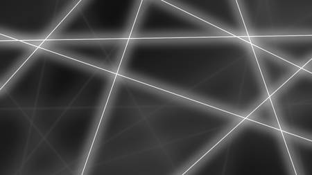 crossings: Abstract glowing grey lines crossings background. 3D Stock Photo