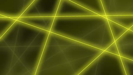 resplandor: Fondo de alta tecnología. Resumen líneas amarillas cruces