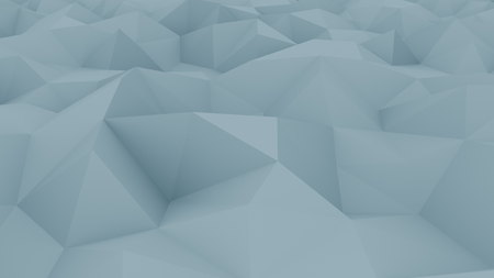 Abstract edge and vertex blue background for reports and presentations. 3D rendering