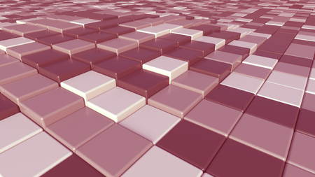 Abstract pink plates background, 3D rendering 写真素材